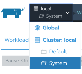 Local Cluster: System Project